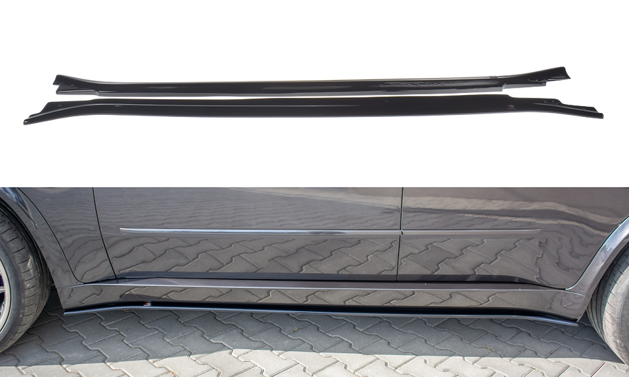 BMW X5 E70 FACELIFT M-PACK SIDE SKIRTS DIFFUSERS