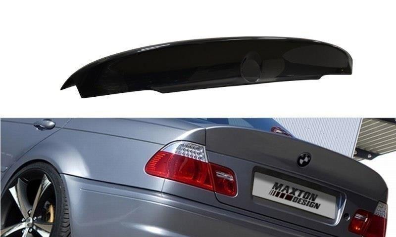 BMW 3 E46 - 4 DOOR SALOON REAR SPOILER  LID EXTENSION   M3 CSL LOOK