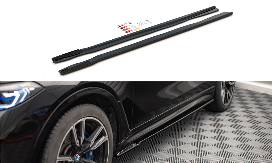 BMW X7 M G07 SIDE SKIRTS DIFFUSERS