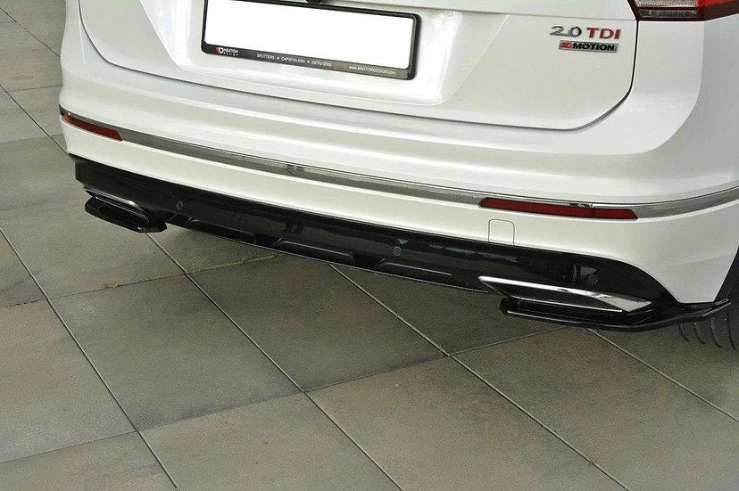 VW TIGUAN MK2 R-LINE REAR SIDE SPLITTERS