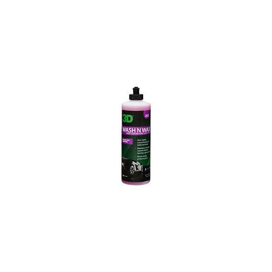3D Wash N Wax - Šampūnas ir vaškas viename / 473ml
