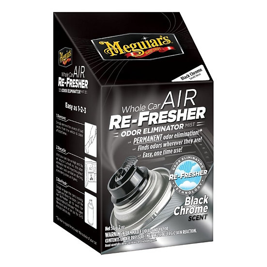 Mequiars Air Refresher / Odor Eliminator - Black Chrome Scent