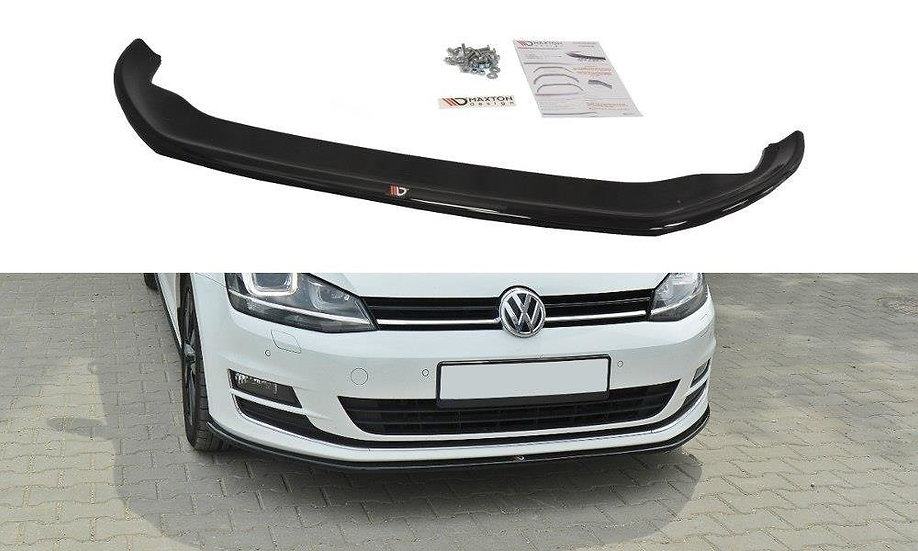 VW GOLF VII FRONT SPLITTER