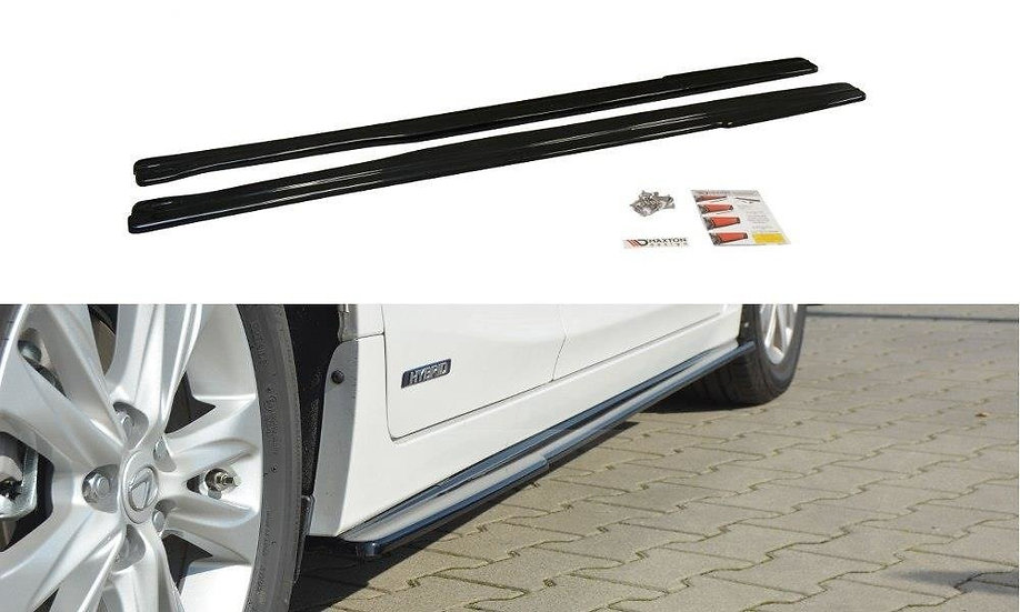 LEXUS CT MK1 FL SIDE SKIRTS DIFFUSERS