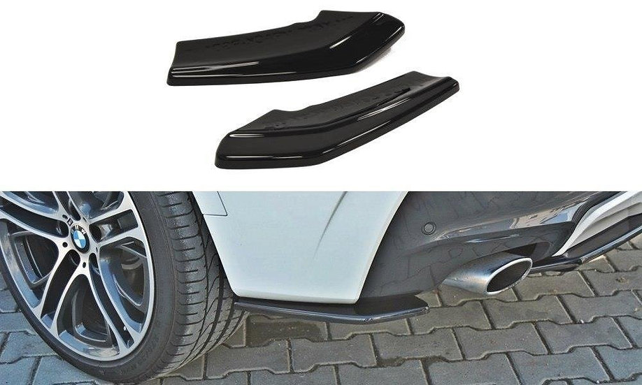 BMW X4 M-PACK REAR SIDE SPLITTERS