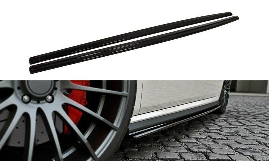VW POLO MK5 GTI (FACELIFT) SIDE SKIRTS DIFFUSERS