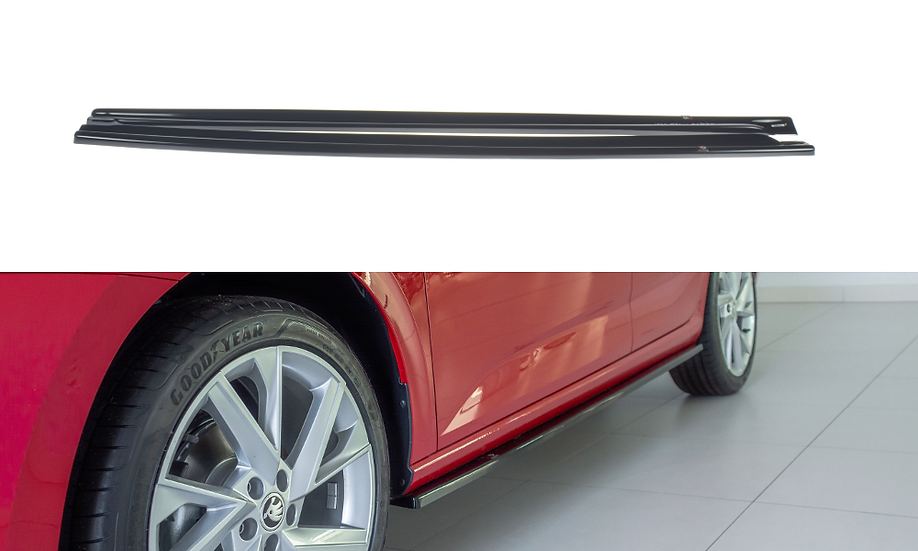 SKODA SCALA SIDE SKIRTS DIFFUSERS