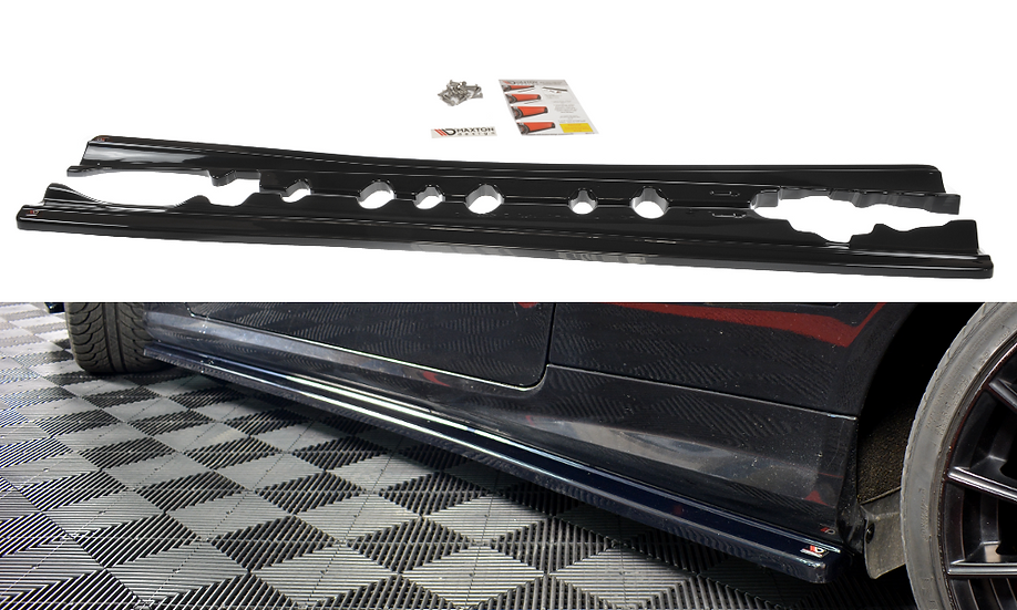 MERCEDES-BENZ E-CLASS W207 COUPE AMG-LINE SIDE SKIRTS DIFFUSERS