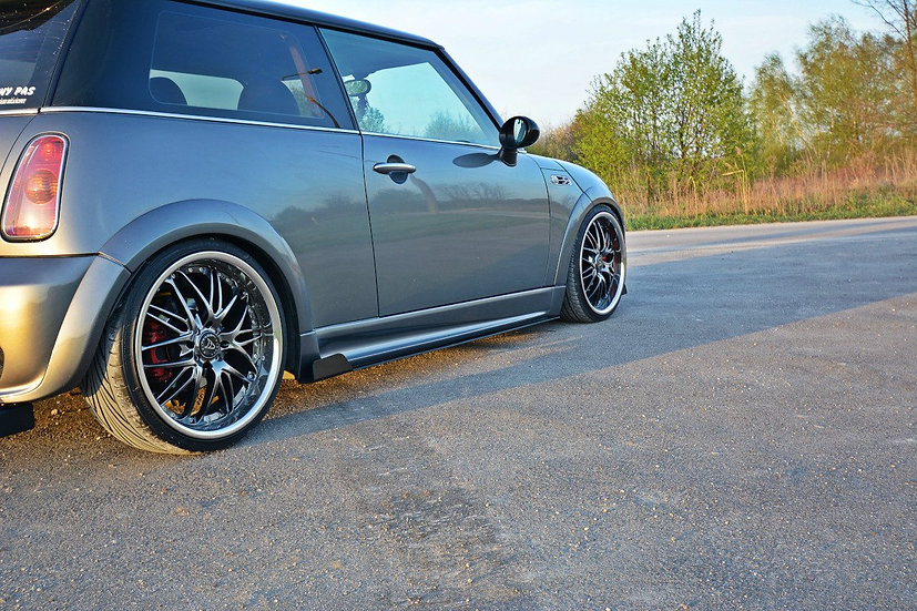 MINI R53 COOPER S JCW RACING SIDE SKIRTS DIFFUSERS