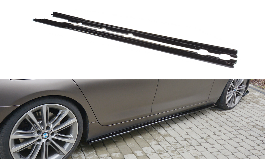 BMW 6 GRAN COUPÉ SIDE SKIRTS DIFFUSERS
