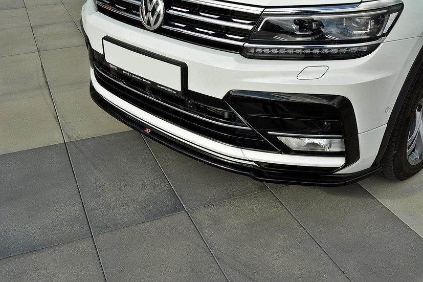 VW TIGUAN MK2 R-LINE FRONT SPLITTER