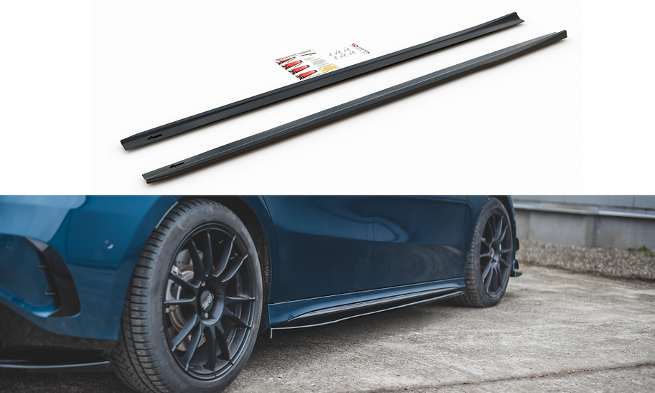 MERCEDES A35 AMG W177 SIDE SKIRTS DIFFUSERS