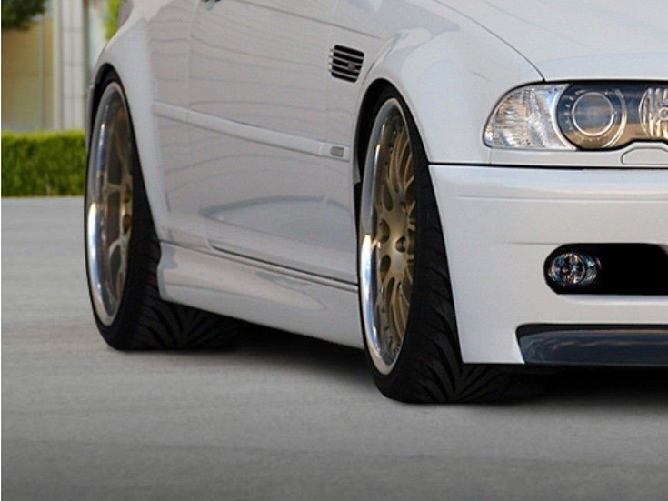 BMW 3 E46 COUPE & CABRIO SIDE SKIRTS   M3 LOOK
