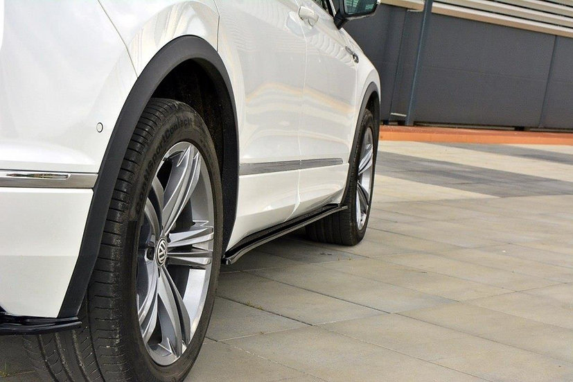 VW TIGUAN MK2 R-LINE SIDE SKIRTS DIFFUSERS
