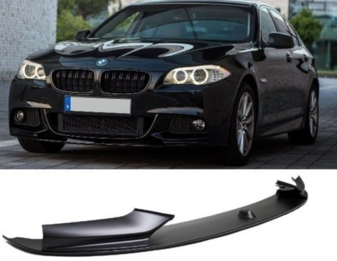 BMW 5 SERIES F10 F11 FRONT SPOILER SPORT-PERFORMANCE BLACK MATT  WITH M-PACKAGE