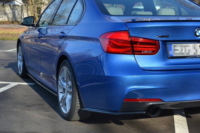 BMW 3-SERIES F30 PHASE-II SEDAN M-SPORT REAR SIDE SPLITTERS