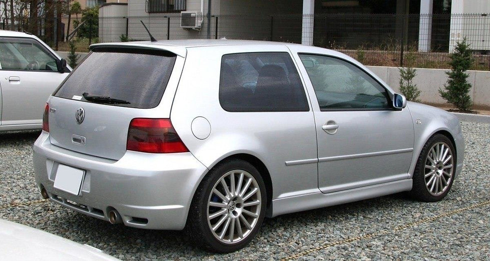 VW GOLF MK4 SIDE SKIRTS  3 DOOR  R32 LOOK