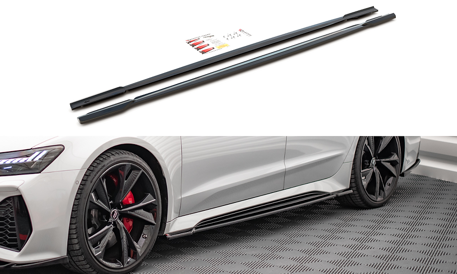 AUDI RS6 C8  RS7 C8 SIDE SKIRTS DIFFUSERS V.1