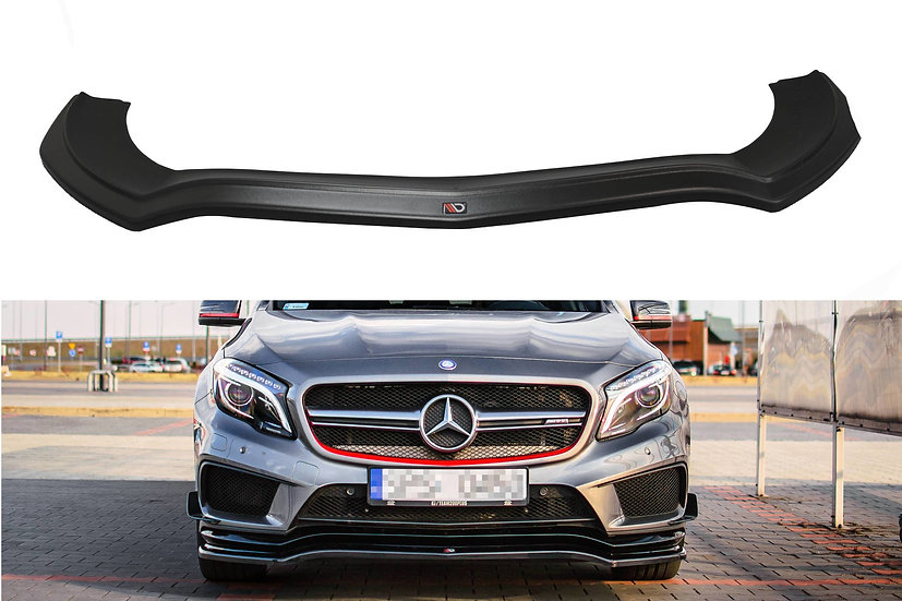 MERCEDES-BENZ GLA 45 AMG SUV (X156) PREFACE FRONT SPLITTER