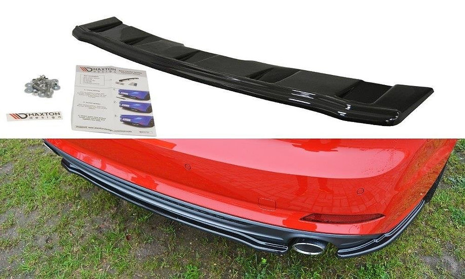 AUDI A5 S-LINE F5 COUPE  SPORTBACKCENTRAL REAR SPLITTER  (WITHOUT VERTICAL BARS)