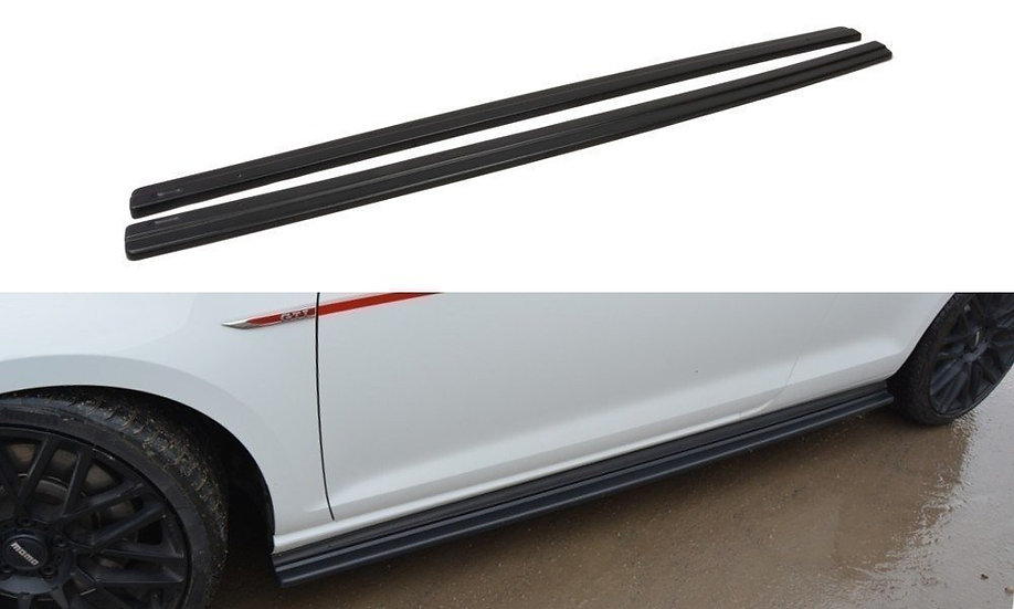 VW GOLF MK7 GTI PREFACEFACELIFT SIDE SKIRTS DIFFUSERS
