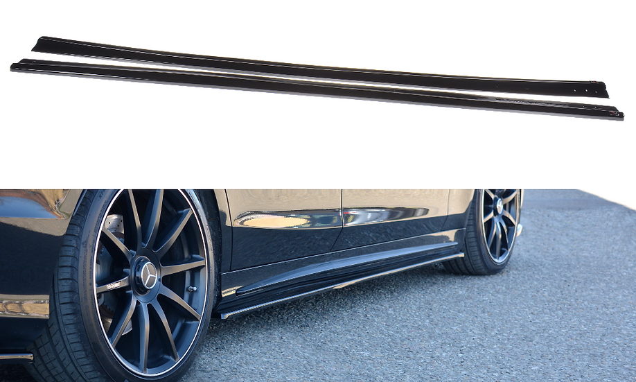MERCEDES-BENZ S-CLASS AMG-LINE W222 SIDE SKIRTS DIFFUSERS