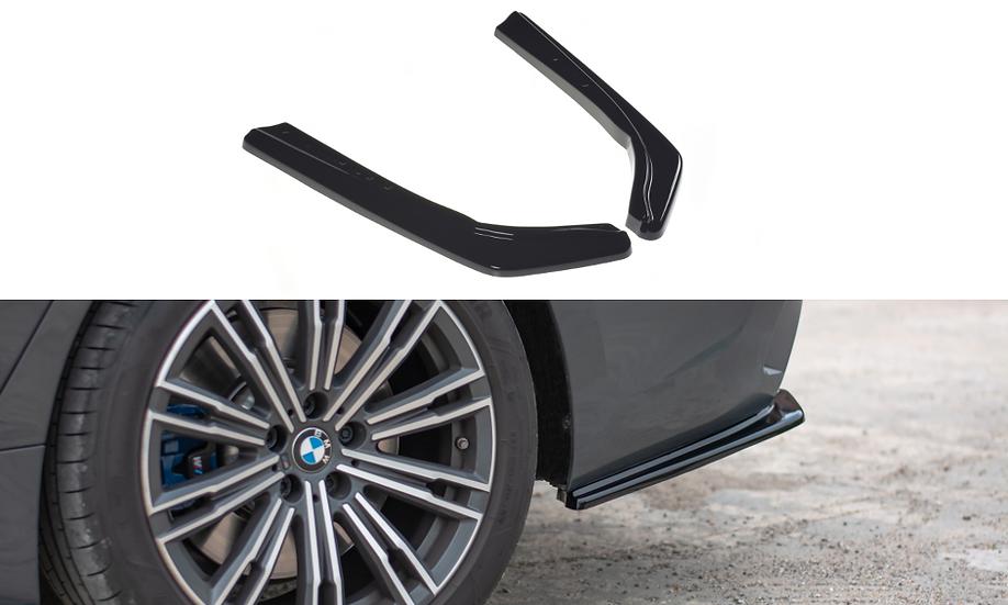BMW 3 G20 M-PACK REAR SIDE SPLITTERS