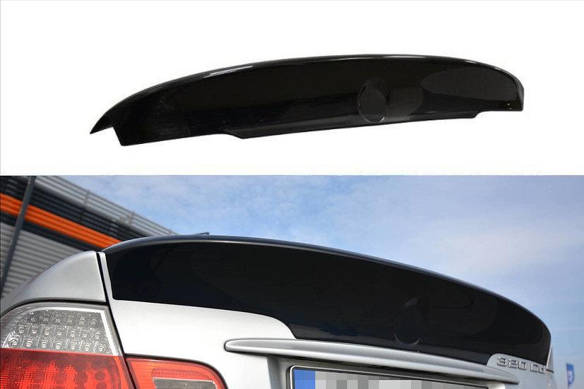 BMW 3 E46 COUPE PREFACE REAR SPOILER  LID EXTENSION   M3 CSL LOOK
