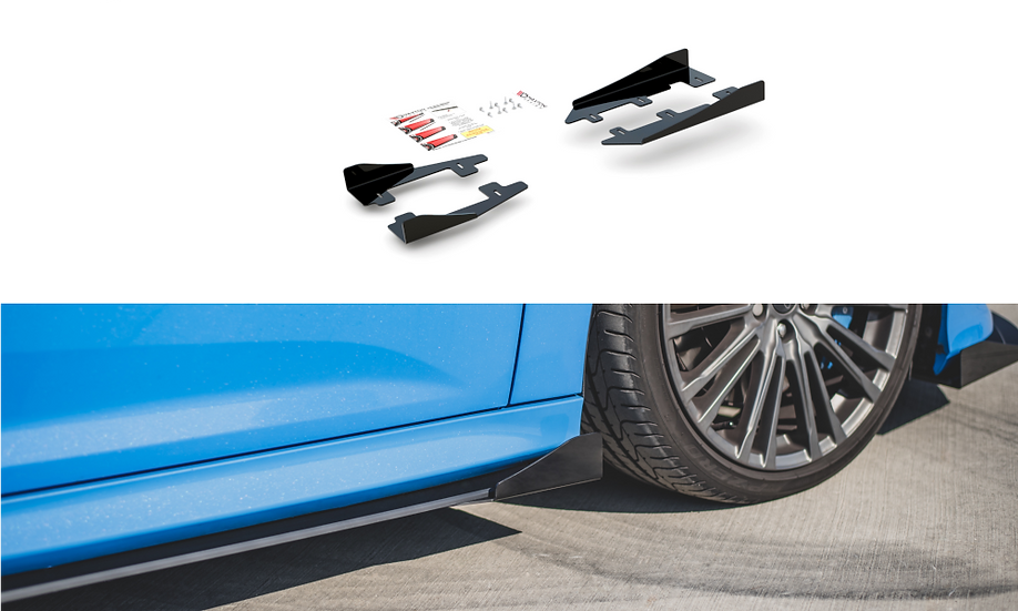 FORD FOCUS RS MK3 SIDE FLAPS