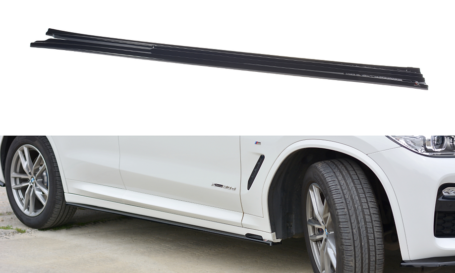 BMW X3 G01 M-PACK SIDE SKIRTS DIFFUSERS