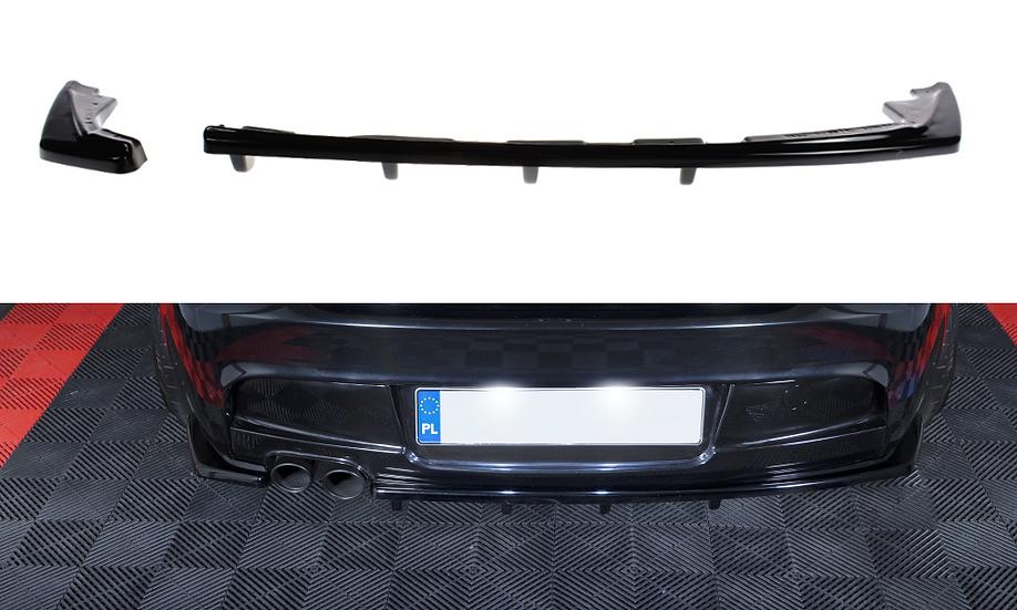 BMW 1 E81 E87 M-PACK FL CENTRAL REAR SPLITTER (WITH VERTICAL BARS)