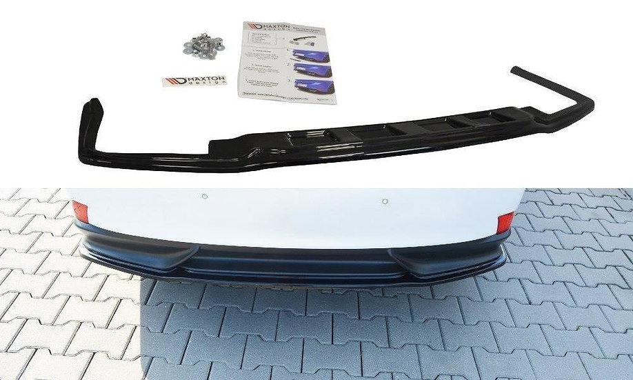 LEXUS IS MK3 H CENTRAL REAR SPLITTER  (WITHOUT VERTICAL BARS)