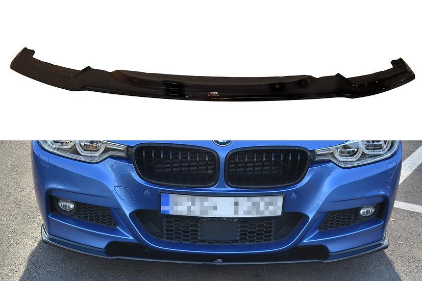 BMW 3-SERIES F30 FL SEDAN M-SPORT FRONT SPLITTER