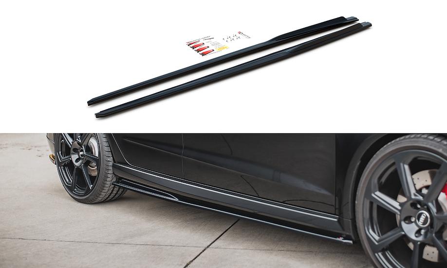 AUDI RS3 8V SPORTBACK FL SIDE SKIRTS DIFFUSERS V.2