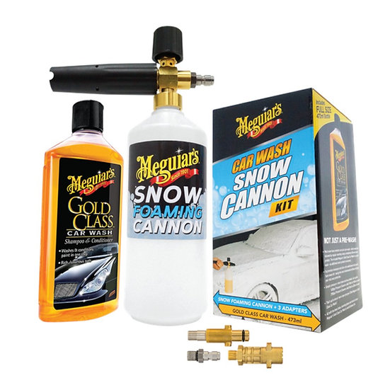 Meguiars Car Wash Snow Cannon Kit