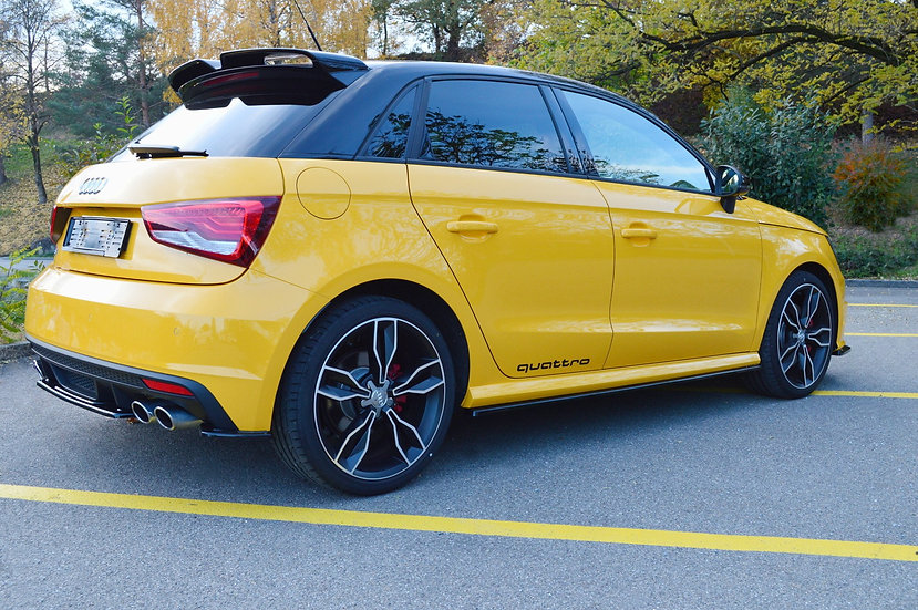 AUDI S1 8X SIDE SKIRTS DIFFUSERS
