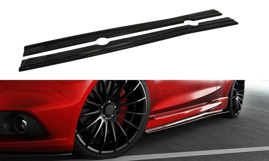 FORD FIESTA ST  ST-LINE MK7 SIDE SKIRTS DIFFUSERS