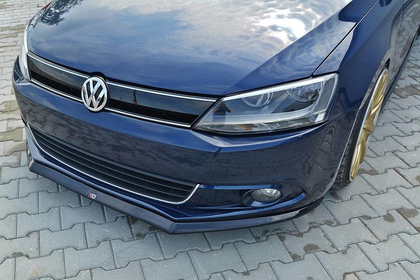 VW JETTA MK6 SEDAN PREFACE FRONT SPLITTER V.2
