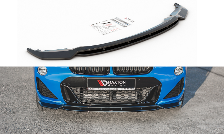 BMW X2 F39 M-PACK FRONT SPLITTER