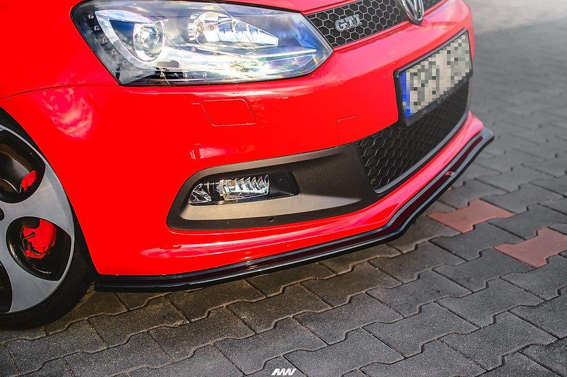 VW  POLO MK5 GTI 6R PREFACEFRONT SPLITTER V.2