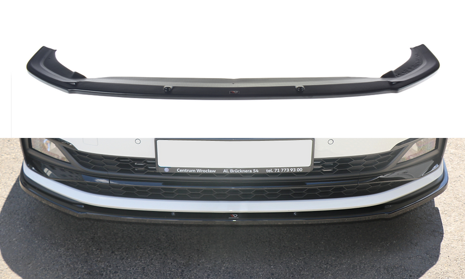 VW POLO MK6 GTI FRONT SPLITTER V.1