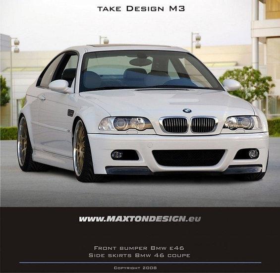 BMW 3 E46 COUPE & CABRIO  FRONT BUMPER  M3 LOOK