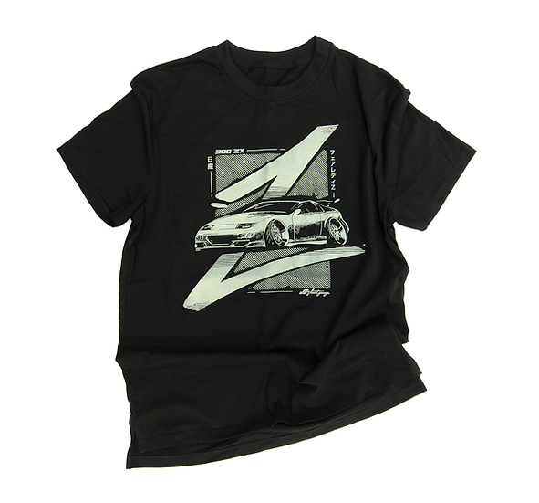 Z STYLE  BLACK T-SHIRT