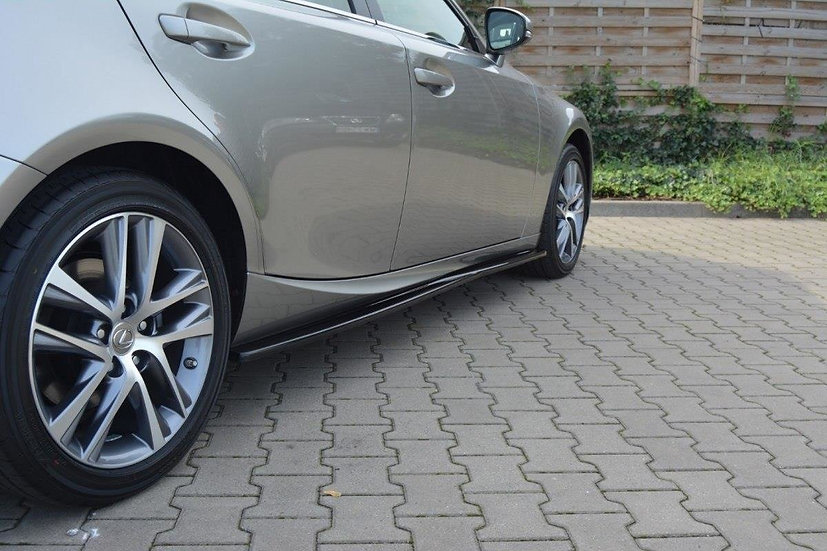 LEXUS IS MK3 MK3 FL SIDE SKIRTS DIFFUSERS