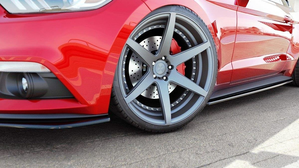 FORD MUSTANG MK6 SIDE SKIRTS DIFFUSERS