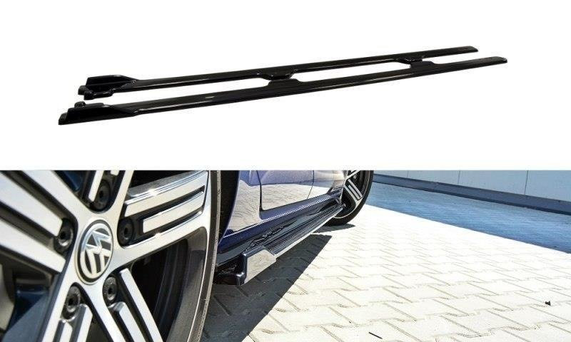 VW GOLF MK7 R (FACELIFT) SIDE SKIRTS DIFFUSERS