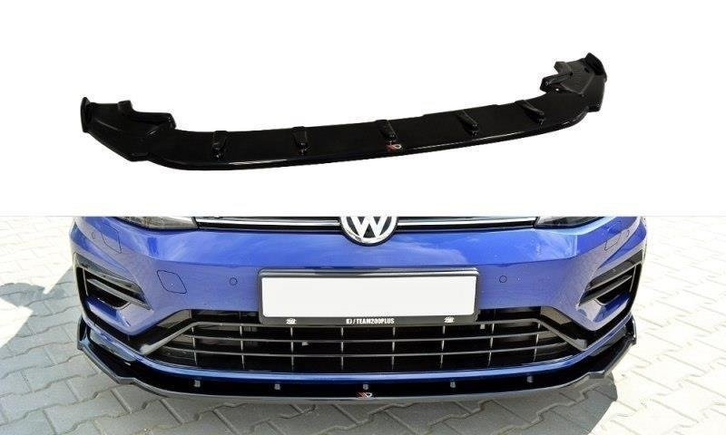 VW GOLF VII R (FACELIFT) FRONT SPLITTER V.1