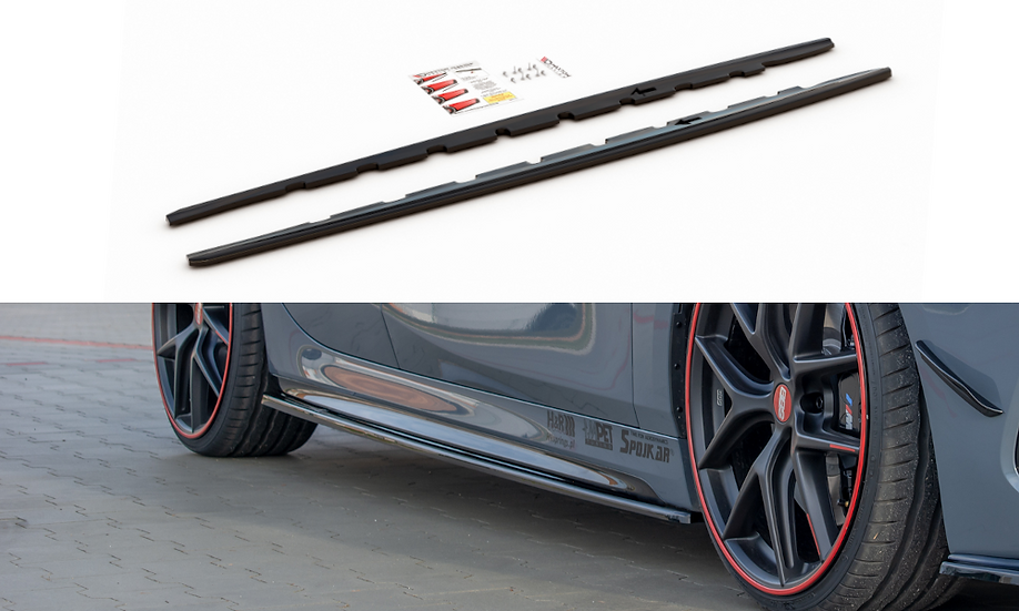 BMW 1 F40 M-PACK SIDE SKIRTS DIFFUSERS