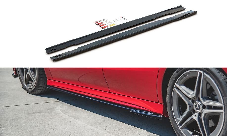 MERCEDES-BENZ CLA AMG-LINE C118 SIDE SKIRTS DIFFUSERS