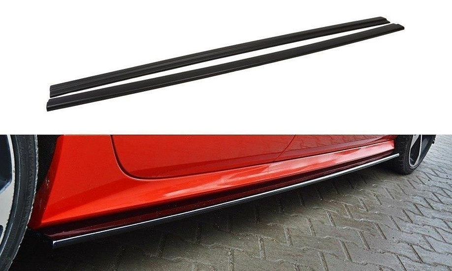 AUDI S7  A7 S-LINE C7 FL SIDE SKIRTS DIFFUSERS